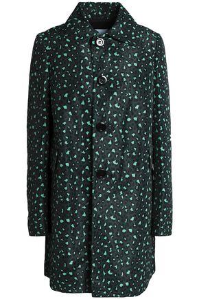 REDValentino Leopard-print twill coat