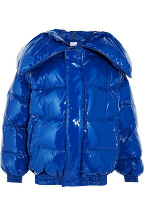 VETEMENTS Quilted coated down jacket