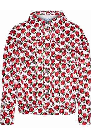 PRADA Printed denim jacket