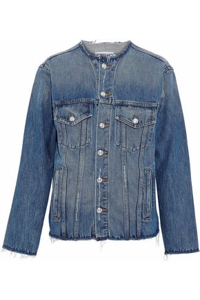 DEREK LAM 10 CROSBY Reiss distressed denim jacket
