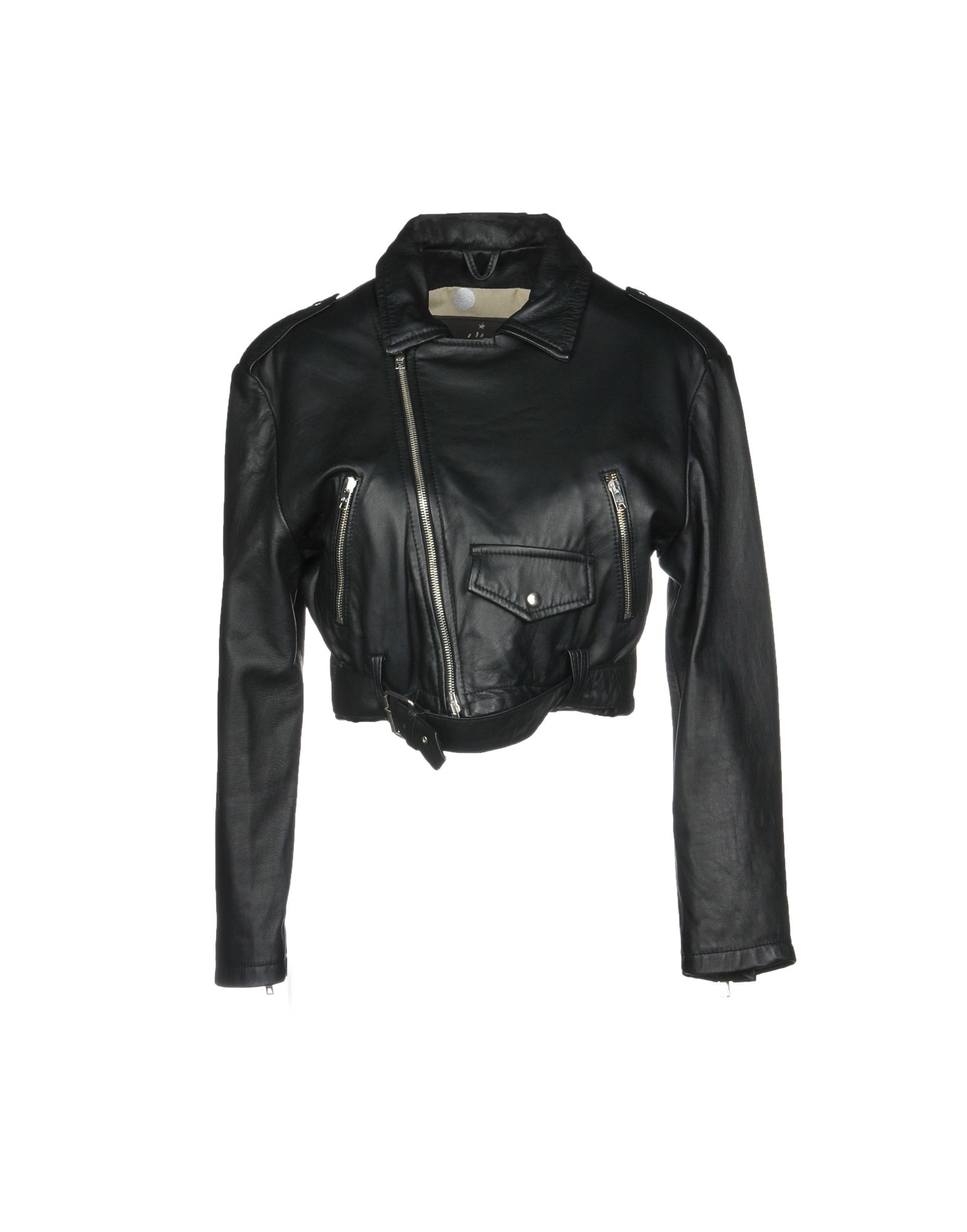 WLG BY GIORGIO BRATO Biker Jacket in Black