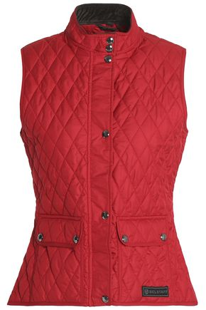 BELSTAFF Quilted cotton gilet