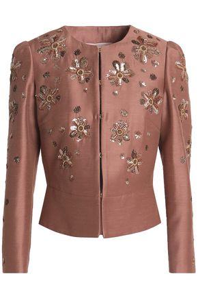 ROBERTO CAVALLI Embellished woven jacket