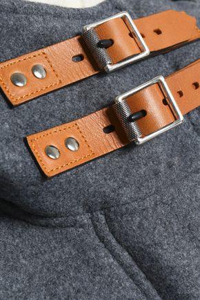 RAG & BONE Wool-blend hooded jacket