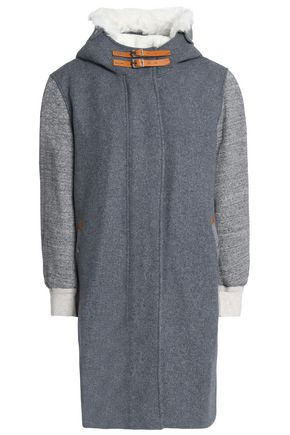 RAG & BONE Wool-blend hooded jacket