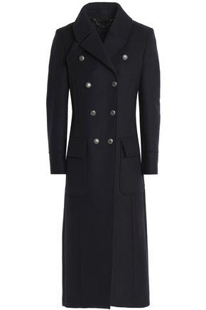 BELSTAFF Double-breasted wool-blend felt coat