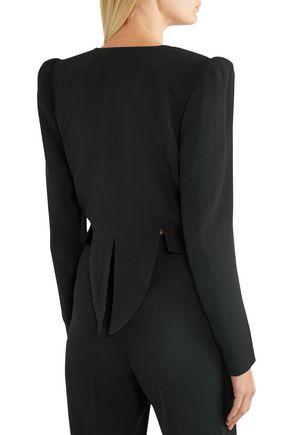 RONALD VAN DER KEMP Double-breasted crepe blazer