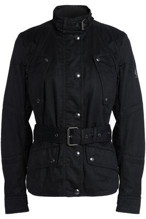 BELSTAFF Belted cotton-twill jacket