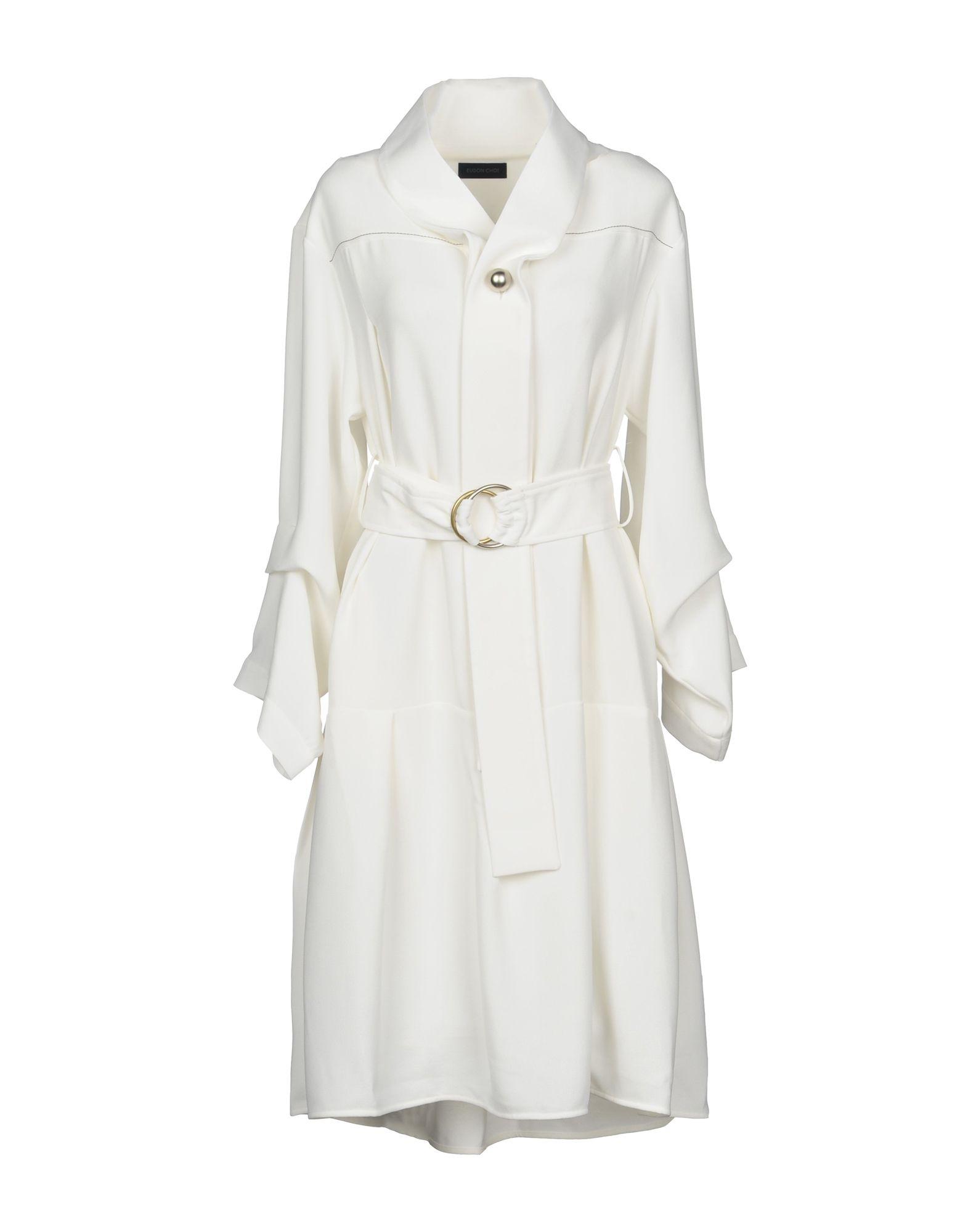 EUDON CHOI Платье до колена цена и фото