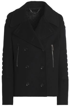 BELSTAFF Double-breasted wool and cashmere-blend jacket