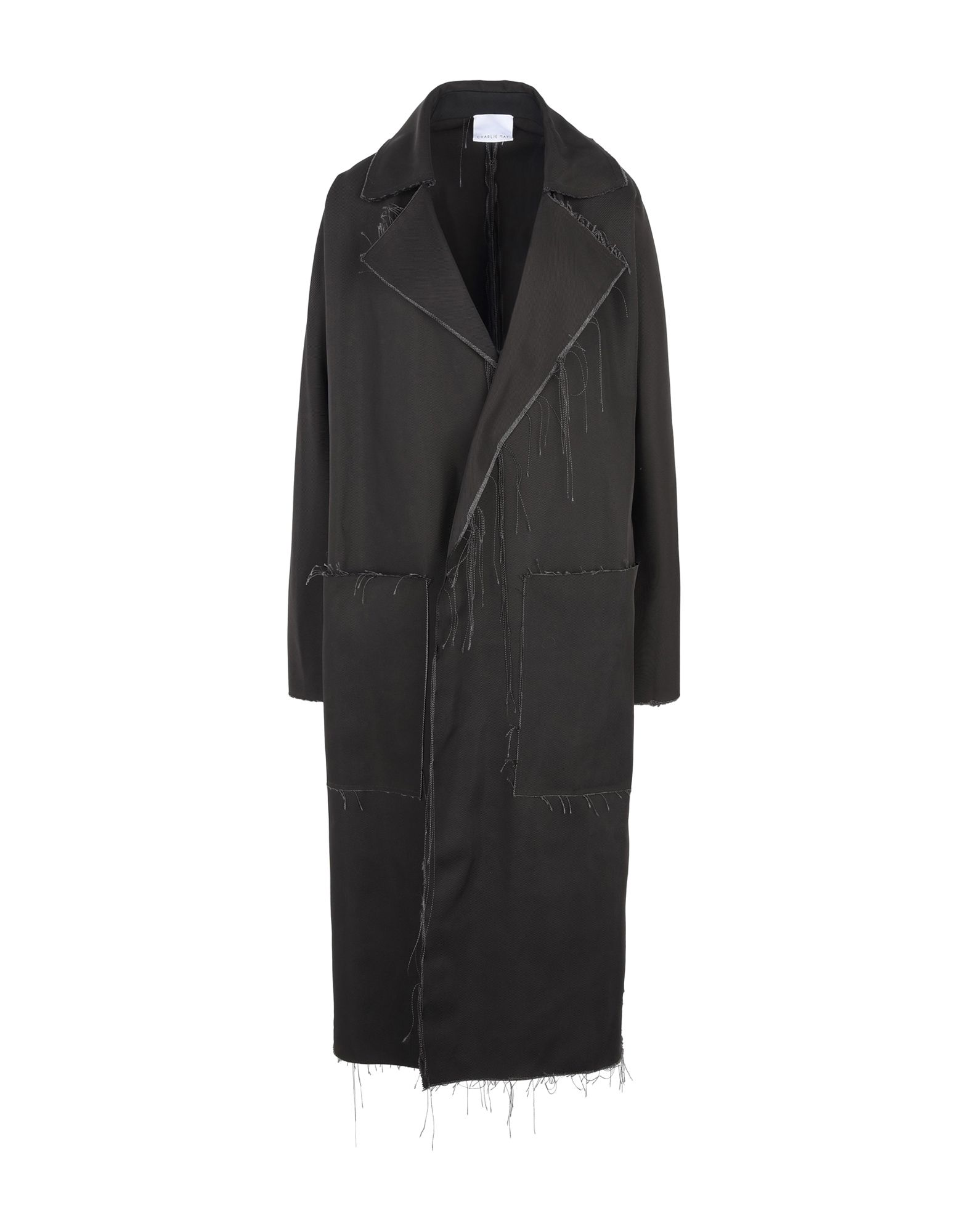 CHARLIE MAY Full-Length Jacket in Black