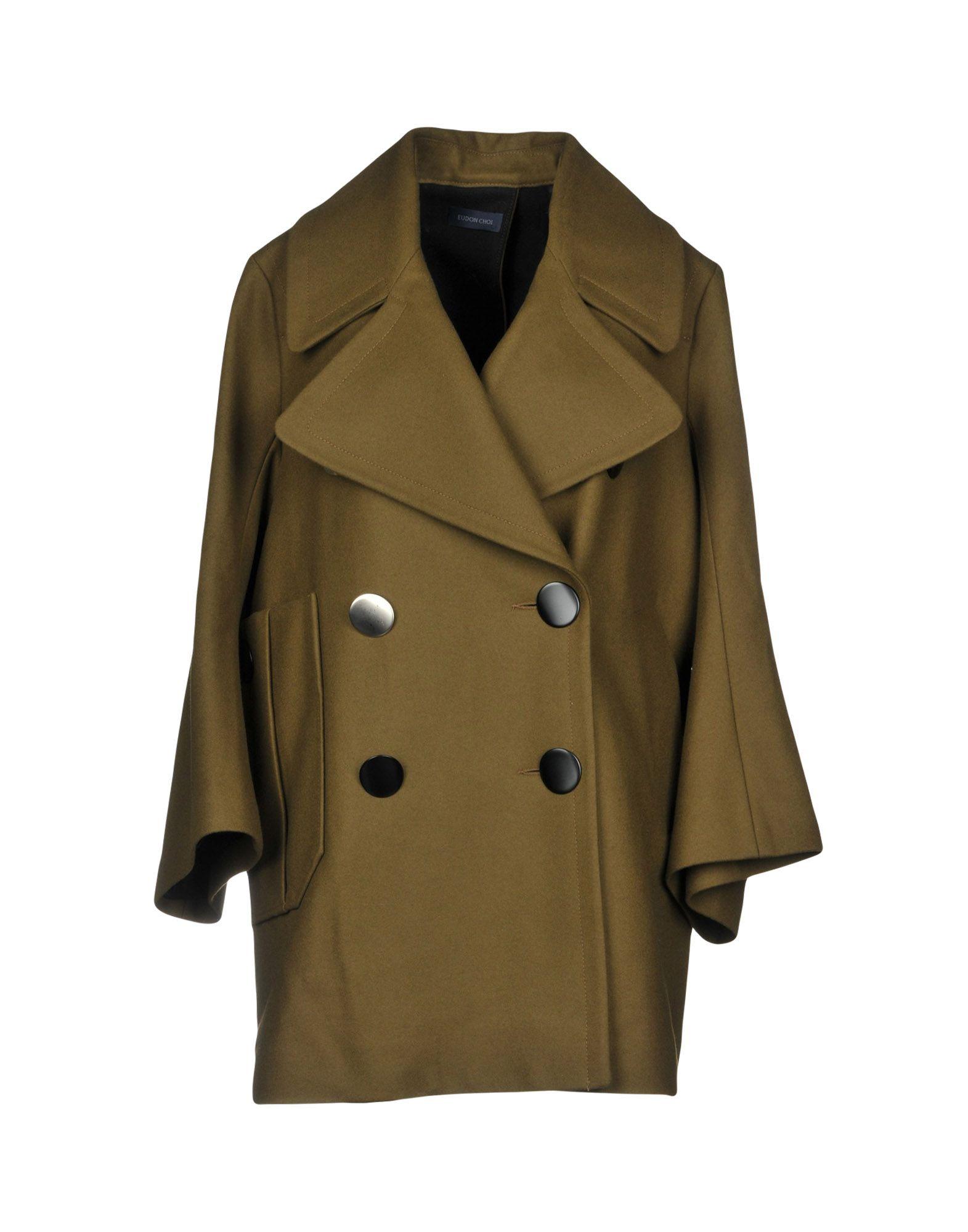 EUDON CHOI Пальто eudon choi блузка
