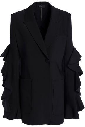 ELLERY Ruffled woven blazer