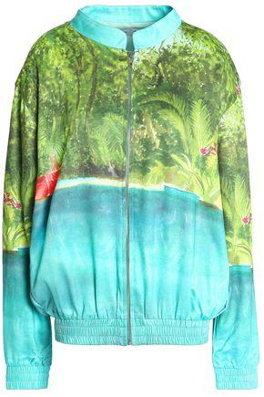 ISOLDA Printed shell track jacket