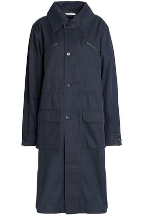 CURRENT/ELLIOTT Cotton-blend gabardine coat
