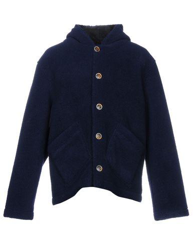 Фото - Мужское пальто или плащ G.A.V.E.T.T.A. with ERMANNO GALLAMINI темно-синего цвета