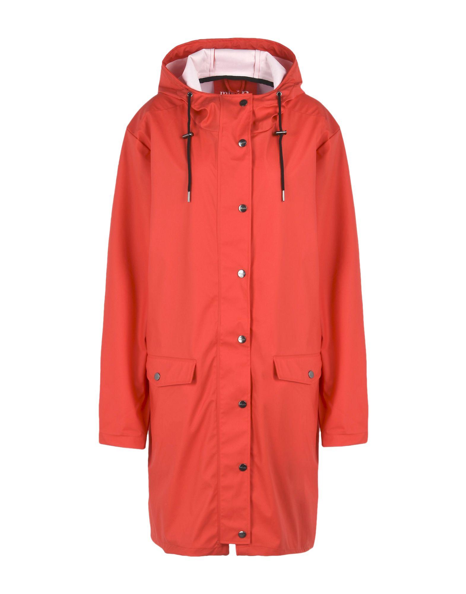 MBYM Full-Length Jacket in Red