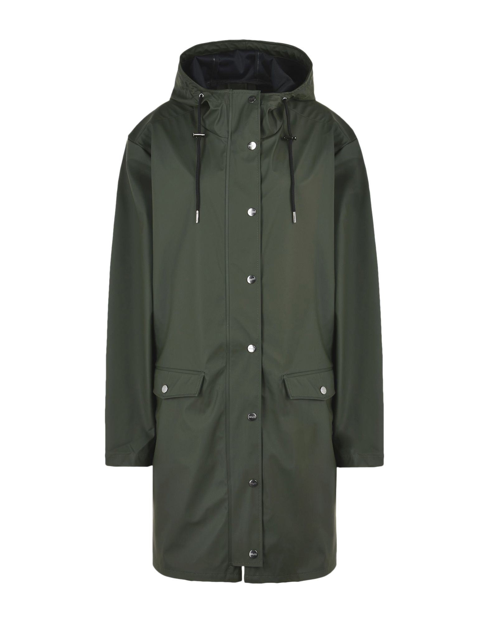 MBYM Full-Length Jacket in Military Green