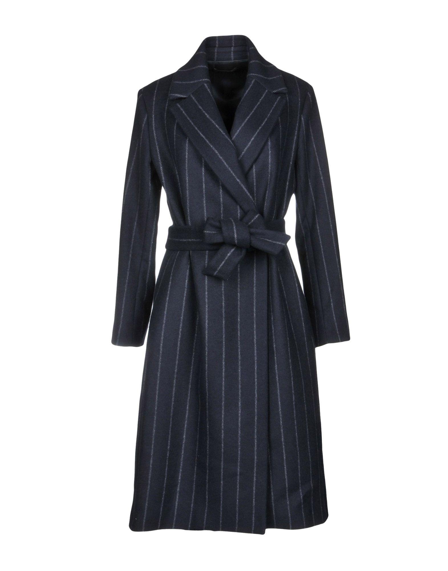 ANTONELLI Пальто 2016 осенью дамы сукно slim шерстяные пальто в длинные пальто