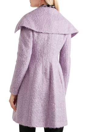 GIAMBATTISTA VALLI Double-breasted mohair-blend bouclé coat