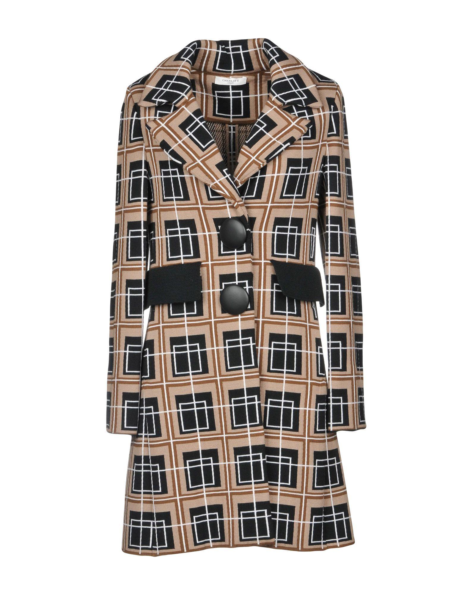 CHARLOTT Пальто bonpoint платье charlott с принтом