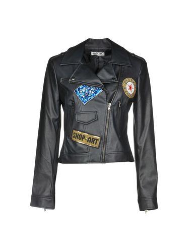 Фото - Женскую куртку SHOP ★ ART черного цвета