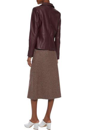 VEDA Leather blazer
