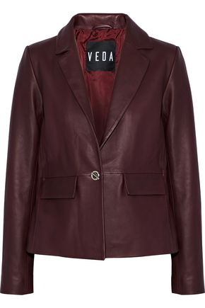 VEDA Leather blazer