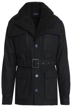 JOSEPH Wool-blend felt jacket