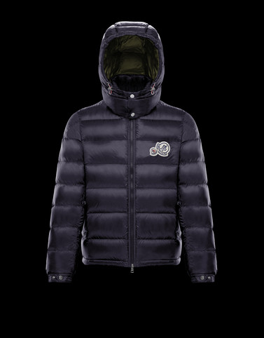 BRAMANT Dark blue Down Jackets Man
