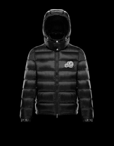 BRAMANT Black Down Jackets Man