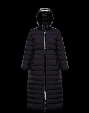 GRUE Black Long Down Jackets