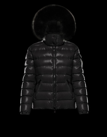 BADYFUR Black Short Down Jackets