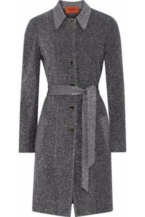 MISSONI Metallic knitted jacket