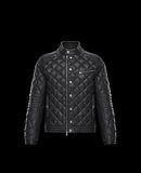 MONCLER AURIAC - Biker jackets - men