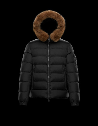 MARQUE Black Down Jackets Man