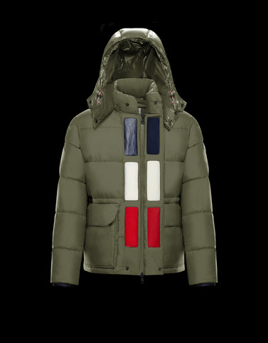 GLACIER Military green Category Outerwear