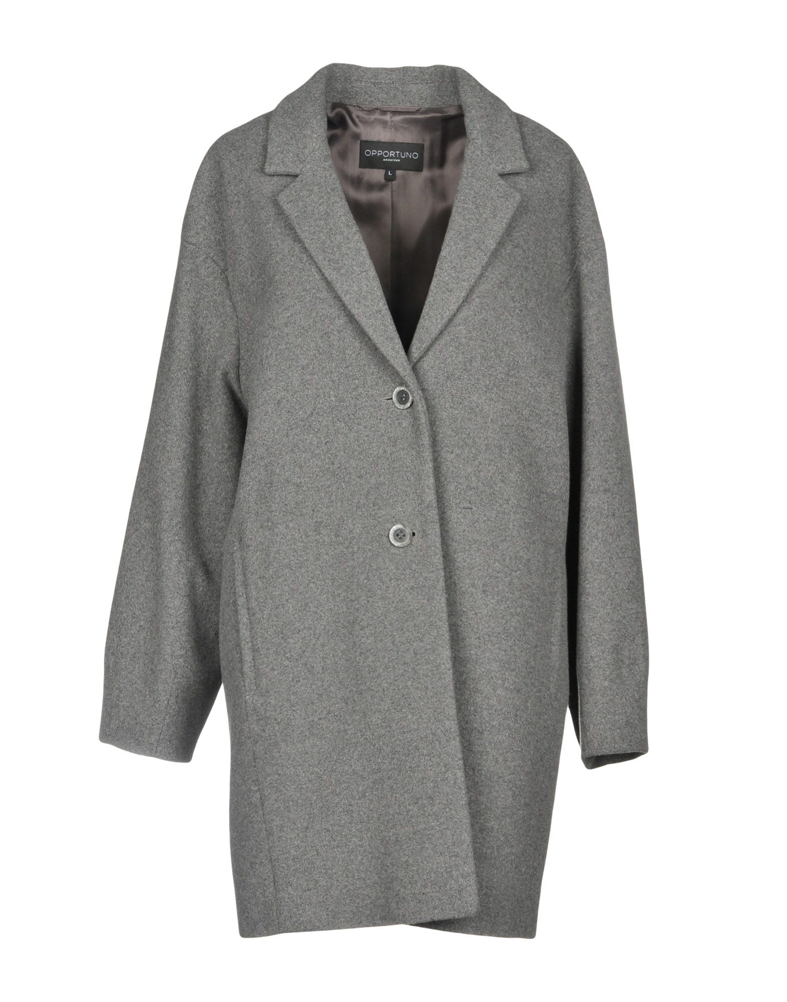OPPORTUNO Coat in Grey