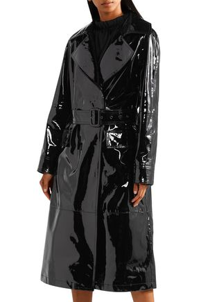 a9b7e12cc8ca ... TOM FORD Patent-leather trench coat ...