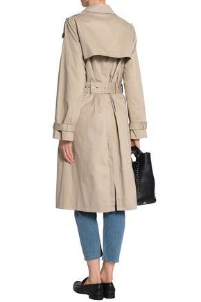CLAUDIE PIERLOT Cotton-gabardine trench coat