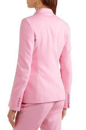 OSCAR DE LA RENTA Wool-blend twill blazer
