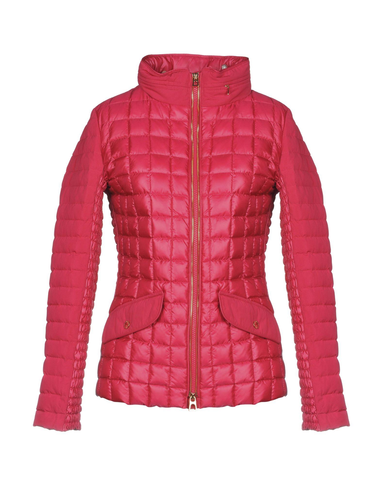 DIEGO M Down Jacket in Fuchsia