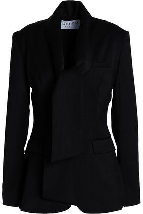 OSMAN Wool-blend twill blazer