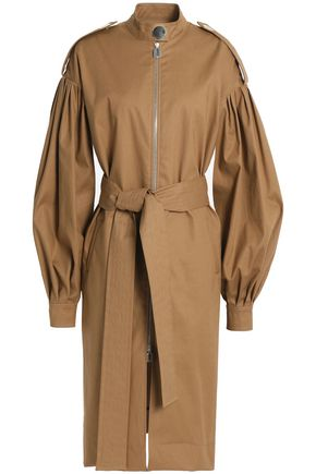 OSMAN Cotton-blend twill trench coat