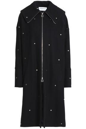 OSMAN Studded wool-blend coat