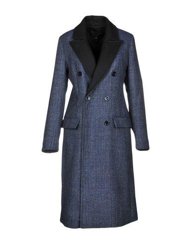 Фото - Женское пальто или плащ KATIA G. темно-синего цвета