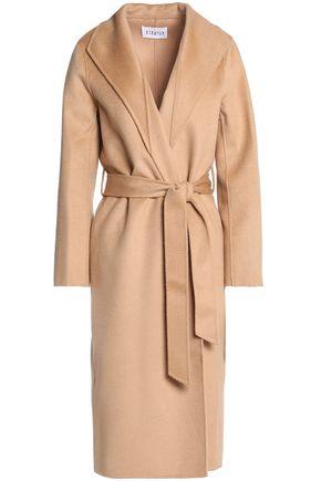 CLAUDIE PIERLOT Belted wool-felt coat
