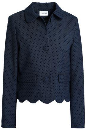 CLAUDIE PIERLOT Flocked twill blazer