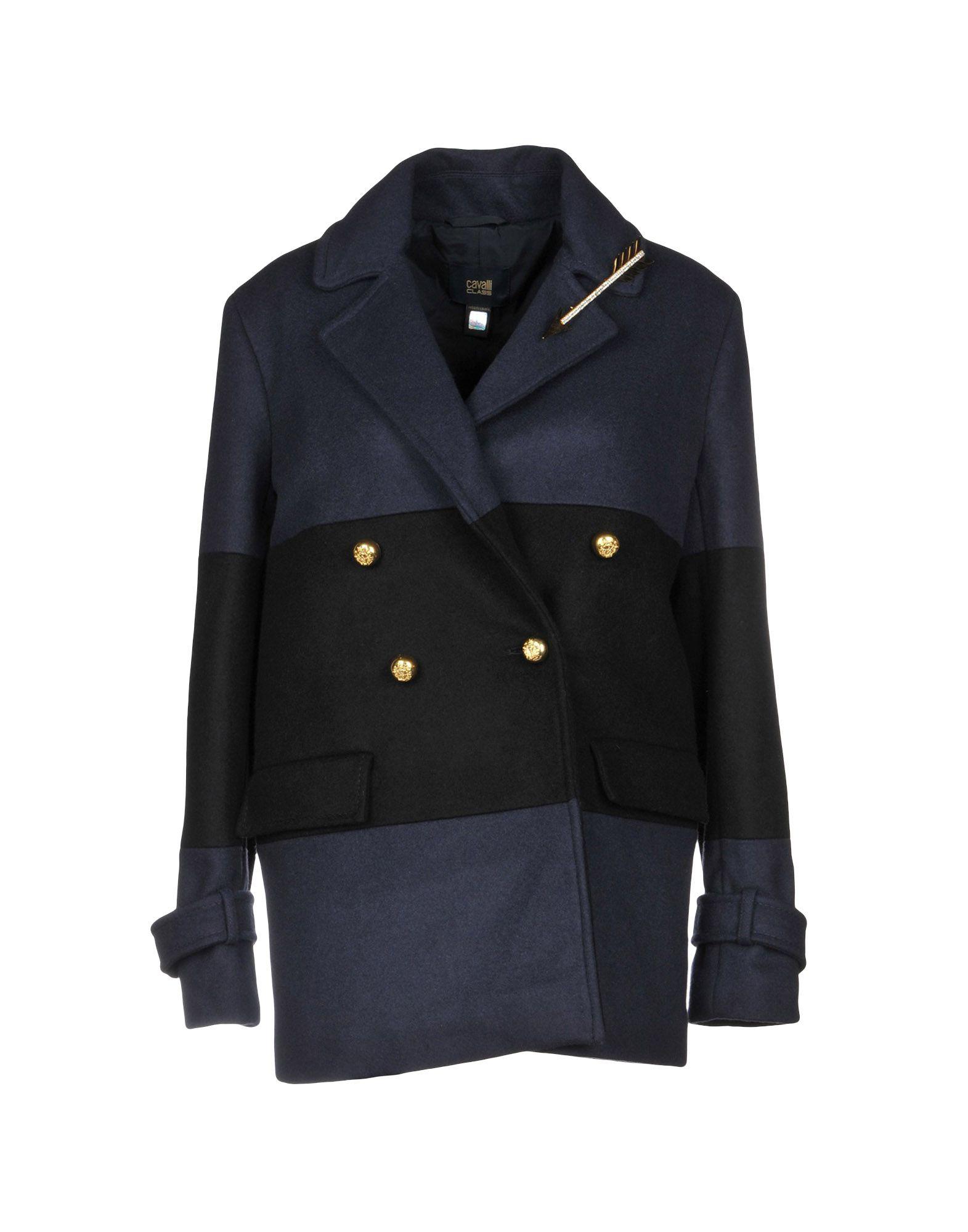 CLASS ROBERTO CAVALLI Пальто пальто class cavalli пальто короткие