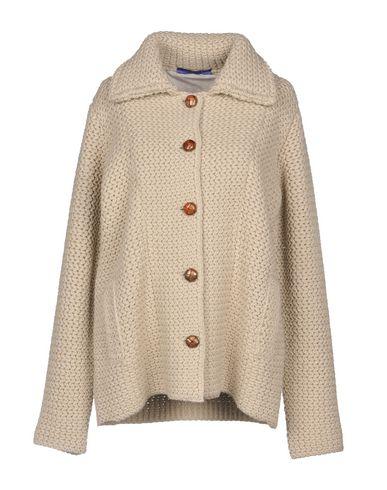 Купить Женское пальто или плащ BLUE LES COPAINS бежевого цвета